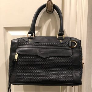 Rebecca Minkoff Black Textured bag